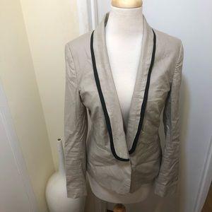 Banana Republic Tuxedo Style Jacket Blazer Size 6